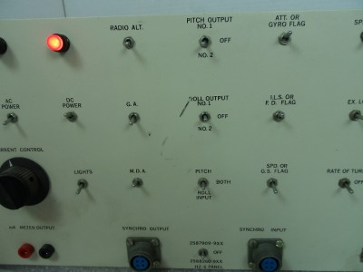 Avionics Test Set Hz 6 Panel Harbin Test Systems Ebay