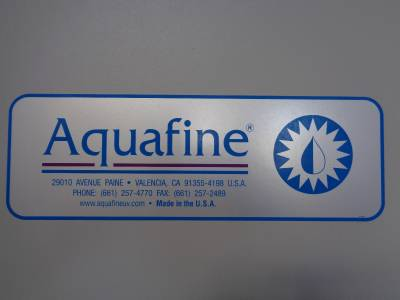 aquafine inventory system Water processing system with high flow pumps, uv categories: aquafine, current inventory, manufacturers, new arrivals, processing equipment, pumps system consists of the following: (1.