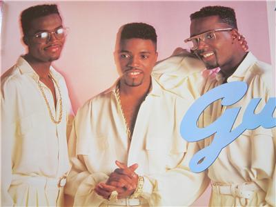 Teddy Riley Amp Guy 1988 Vintage R Amp B Soul Poster Near Mint
