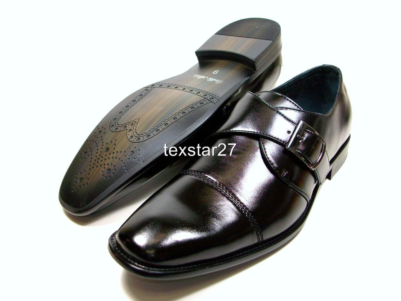 mens black d aldo loafer dress casual shoes buckle