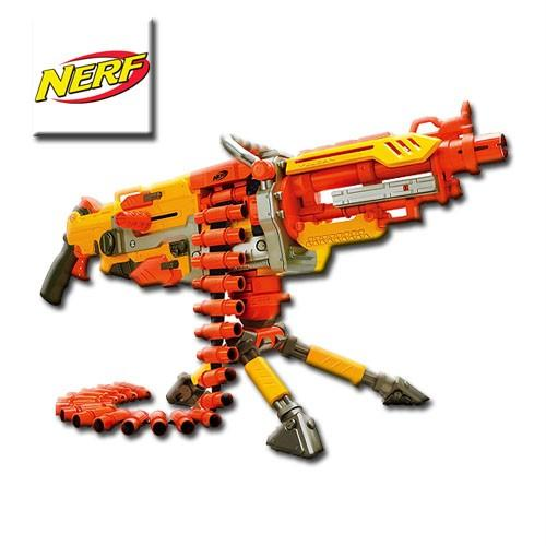HUGE Nerf N Strike Vulcan EBF-25 Toy Gun BLASTER 4 Outdoor ...