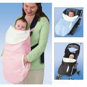 NEW-Poppit-Luxe-Carrier-Cover-Girls-WARM-WINTER-BABY-CARRIER-4-Parents-Travel