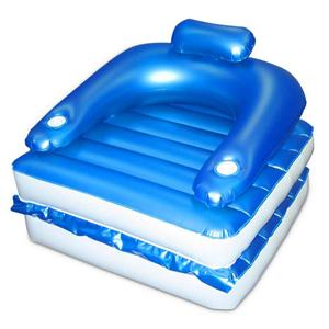 Chair and chaise lounge 4 swimming pool float inflatable seat ebay