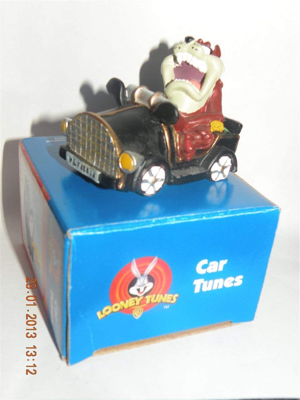 NEW-Looney-Tunes-COLLECTIBLE-Taz-Devil-CAR-TUNES-Figurine-Ornament-Display-Kids