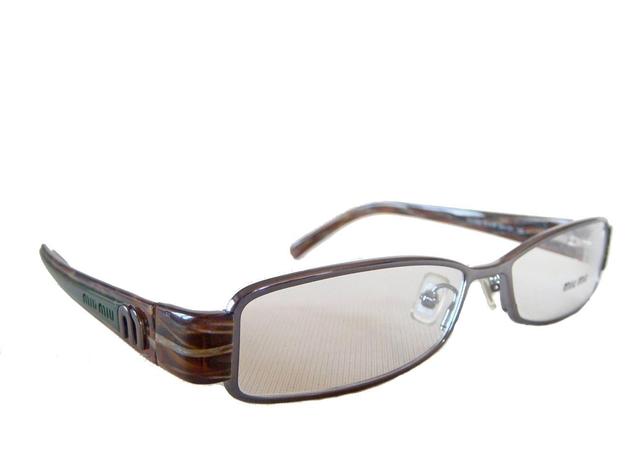 miu miu by prada vmu 60e 5av 1o1 glasses spectacles