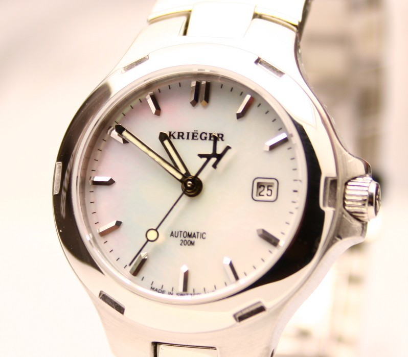 Krieger Ladies Divers Swiss Made Automatic Watch