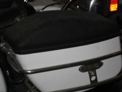 Honda Goldwing GL1100 GL 1100 Luggage Set Shoei Side Hard Saddle Bags Storage