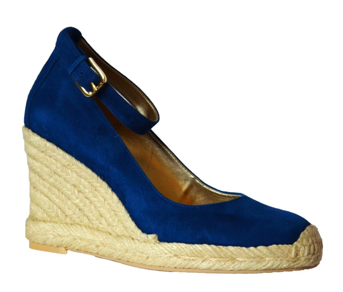 franco sarto quarry womens blue wedge ankle