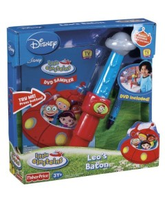 Einsteins Leo Musical Baton Wand conducting toy w DVD sampler