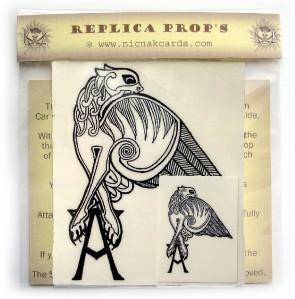 Angel 39 s gryphon tattoo buffy replica temp tattoo x 3 ebay for Buffy angel tattoo