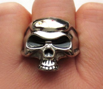 Johnny Depp Skull Ring Stainless Steel