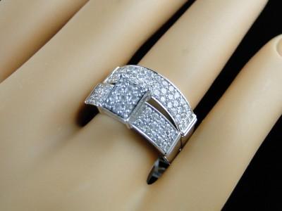MENS ROUND WHITE GOLD DIAMOND ENGAGEMENT BRIDAL WEDDING RING TRIO SET