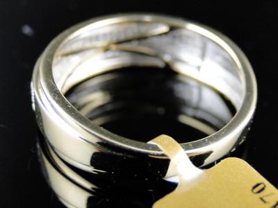 10k MENS YELLOW GOLD REAL WEDDING BAND DIAMOND 7.5 MM RING .40 CT