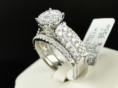 click to open supersize image - 3 Piece Wedding Rings