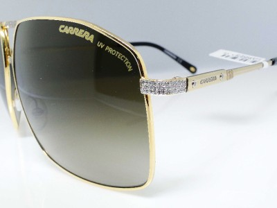 Gold Frame Carrera Sunglasses : Mens Iced Out Gold Frame Porsche Carrera Square Sunglass ...