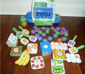 leapfrog pretend and learn cash register review