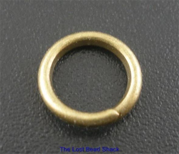 50-Bronze-Tone-8mm-x-1-2mm-Strong-Jump-Rings