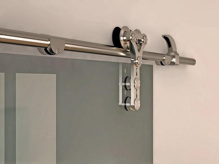 6 6 FT Modern Stainless Steel Interior Sliding Barn Glass Door Hardware Track