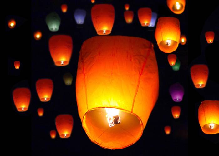 how to make paper wish lanterns