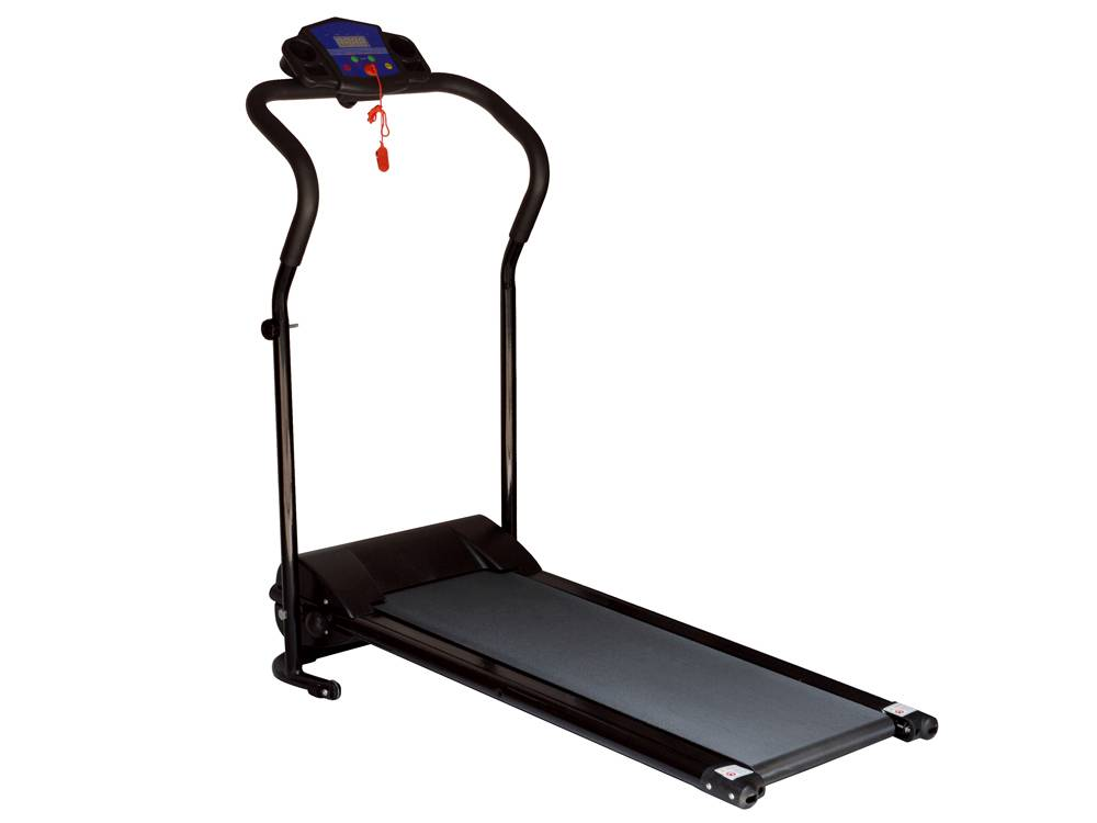 Black 600w Portable Folding Electric Motorized Treadmill