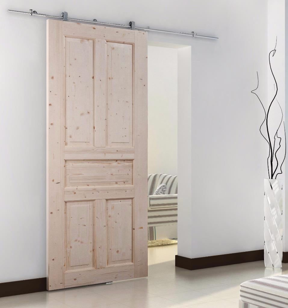 modern european style interior barn wood sliding door hardware track