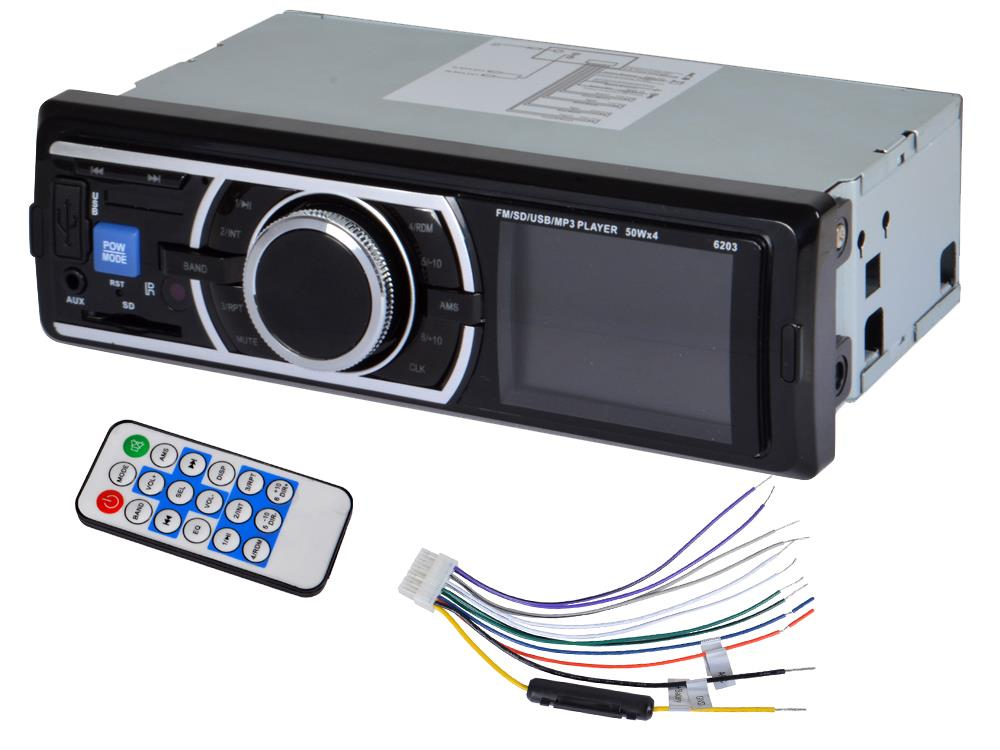 auto car stereo audio in dash fm aux input receiver sd usb. Black Bedroom Furniture Sets. Home Design Ideas