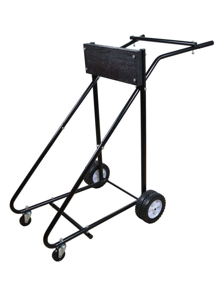 Outboard Motor Carrier : Lb outboard boat trolling motor stand carrier cart