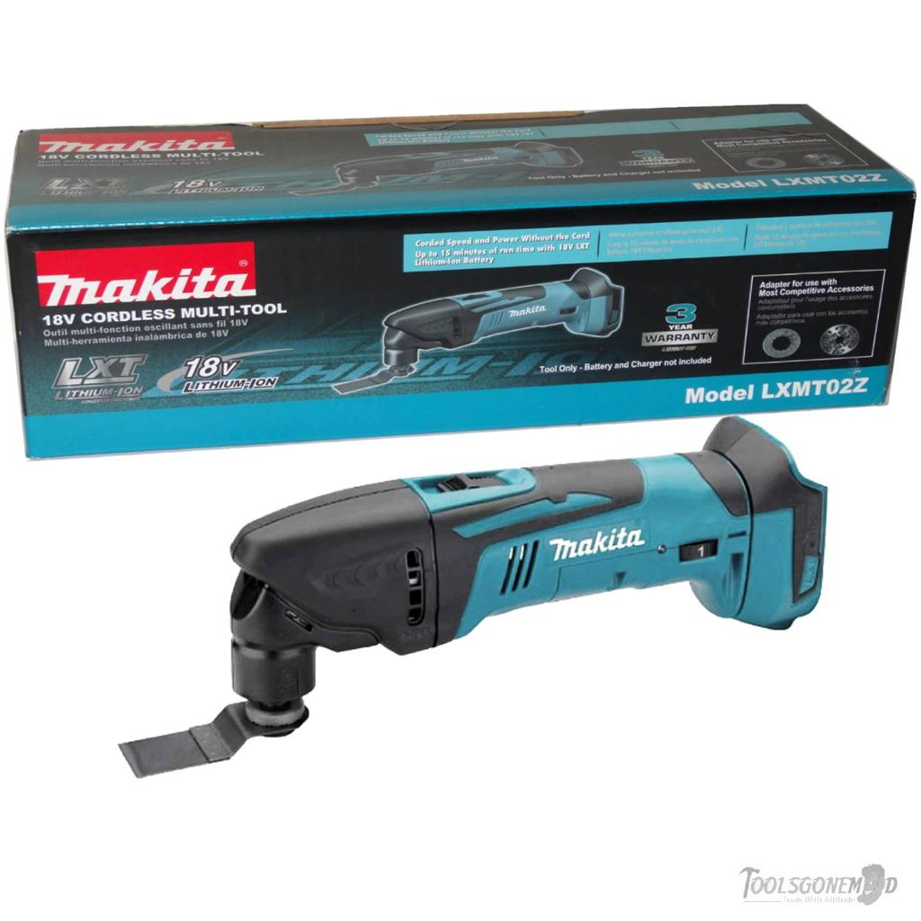makita lxmt02z 18v lxt lithium ion multi tool new in box. Black Bedroom Furniture Sets. Home Design Ideas