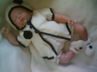 Baby doll knitting patterns | baby doll knitting pattern