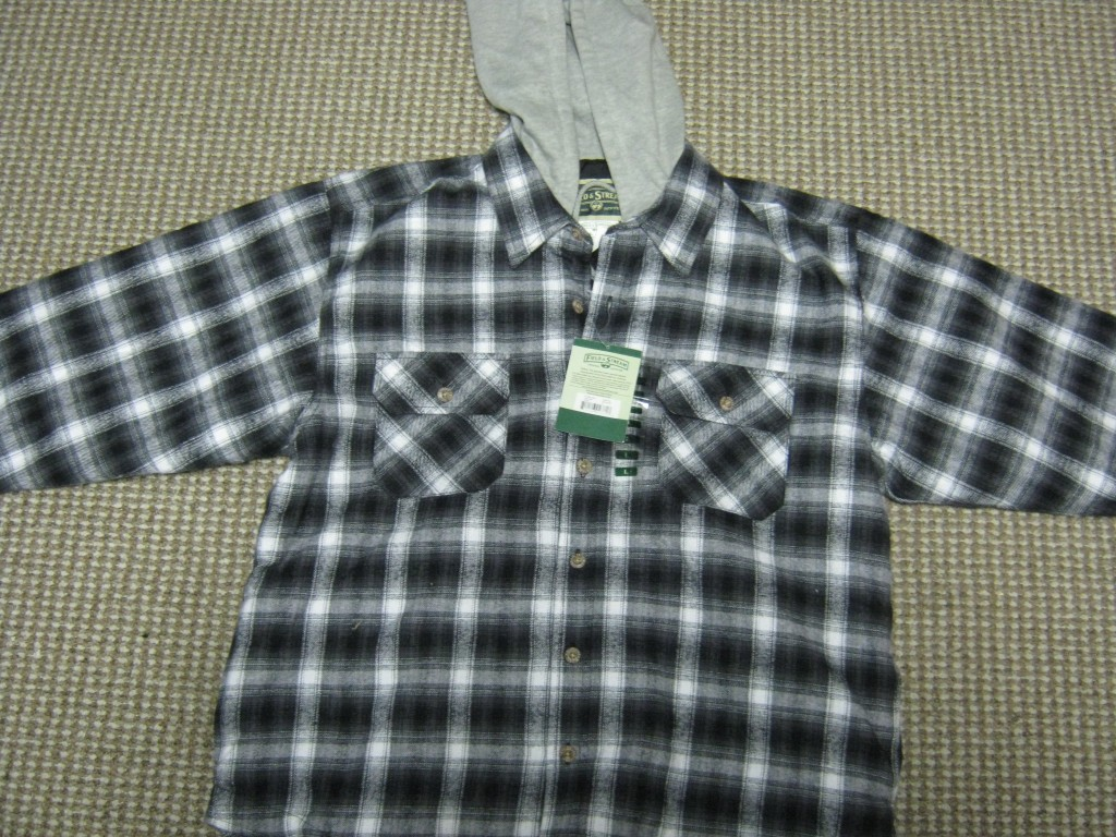 Mens Lined Hooded Flannel Jacket By Field Amp Stream L