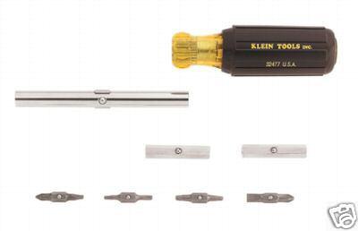 klein tools 32500 11 in 1 screwdriver new ebay. Black Bedroom Furniture Sets. Home Design Ideas