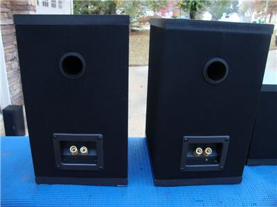 Awesome Carver Front Surround Center Channel Speakers
