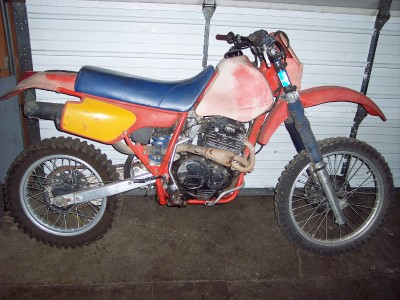 85 honda xr600r xr600 xr 600r 600 r rear suspension shock. Black Bedroom Furniture Sets. Home Design Ideas
