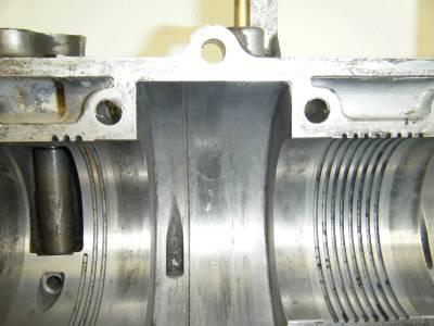92 93 94 Polaris Indy Storm 750 800 EC75PL 01 Fuji Motor Engine Block Crank Case