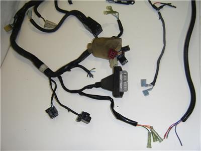 97 98 honda cbr 1100 xx super blackbird electrical main wire plug description this is an oem wiring harness