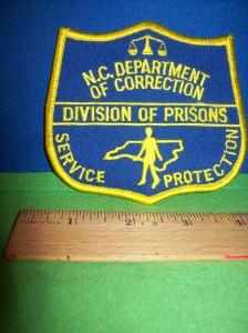 North carolina prison sex officer