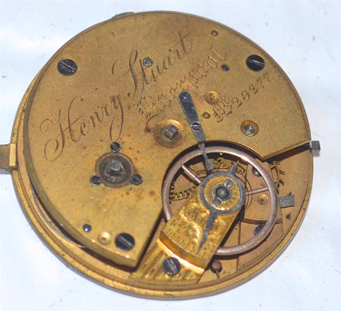 Henry Pitkin Pocket Watch Vintage