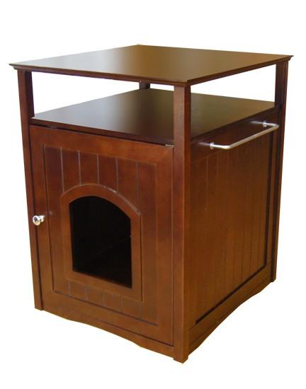 Hidden Cat Litter Box Washroom End Table Night Stand 79