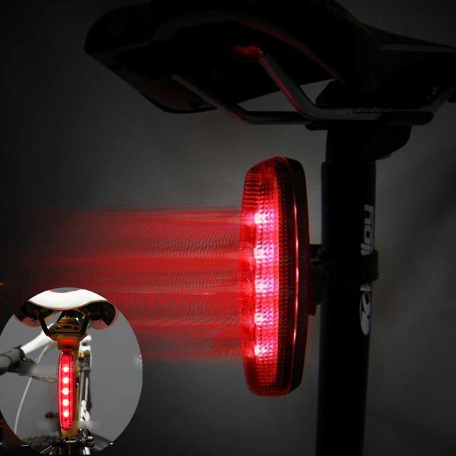 fahrrad reflektoren radfahren helle rote led r ck fahrrad licht lampe ebay. Black Bedroom Furniture Sets. Home Design Ideas