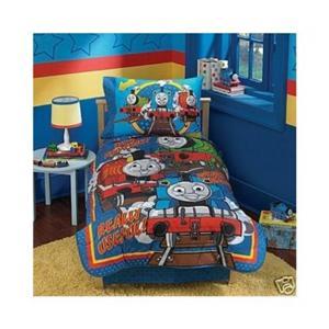 thomas the train 5 piece toddler bedding set ebay
