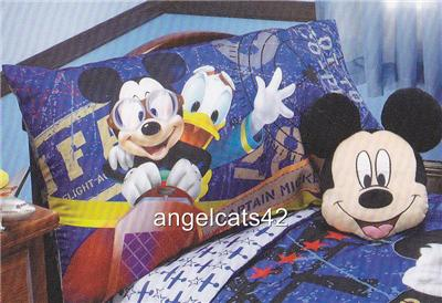 Disney Mickey Mouse Clubhouse 4 Piece Toddler Bedding Set EBay