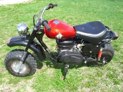 puma 200 adult size mini chopper gas mini bike dirtbike. Black Bedroom Furniture Sets. Home Design Ideas