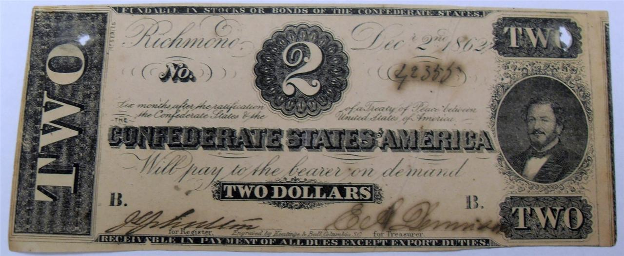 1862 $5 somerset and worcester savings bank