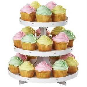 WILTON-3-TIER-CUPCAKE-STAND-BIRTHDAY-PARTY-CAKE-NEW