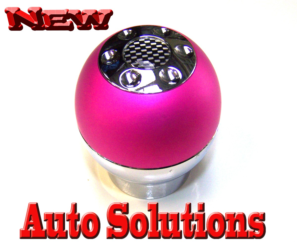 Ladies Pink Diamond Gear Shift Knob Fit Ford Holden Ebay