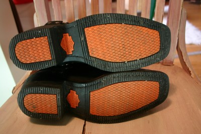Harley Davidson Leather Short Ankle Harness Motorcycle Boots 8 8 5