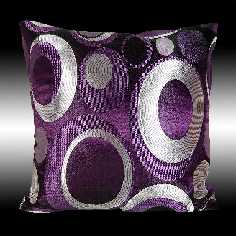 Luxury Throw Pillow Covers : 2X ELEGANT LUXURY DECORATIVE CUSHION COVERS THROW PILLOW CASES 16