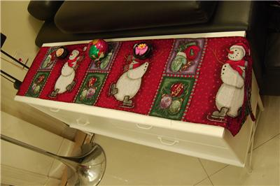 tapestry image and open  table supersize to Click runners placemats