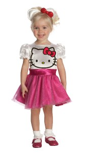 new hello kitty girls dress up tu costume toddler 2 4 pink child small