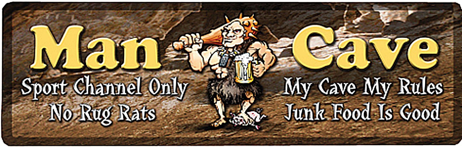 Man Cave Gifts Australia : Bar runner man cave rules bartop mat beer fun novelty gift